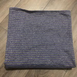 Lululemon Purple Scarf
